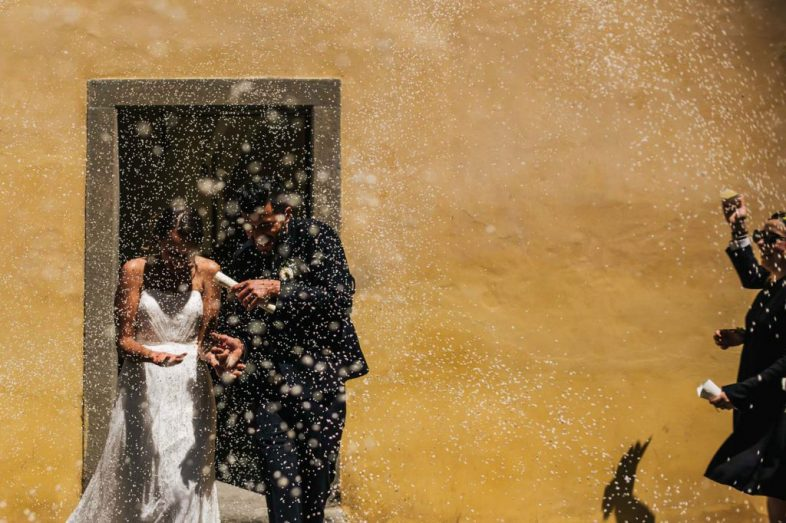 Outdoor wedding Photography near Arezzo in Tuscany