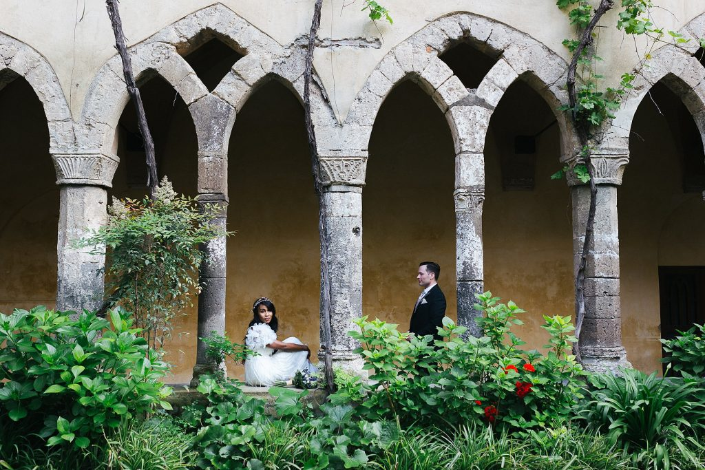 Wedding photographer in sorrento