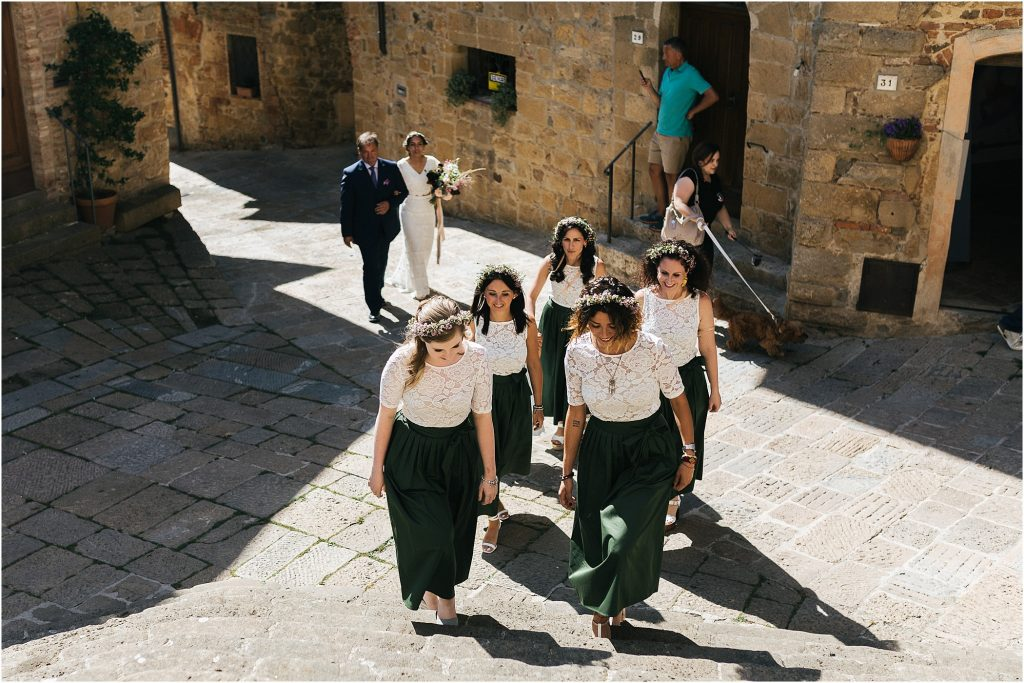 wedding photos val d'orcia monticchiello