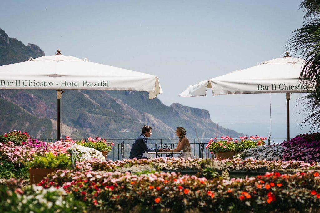 wedding photographer in Ravello and Amalfi Coast