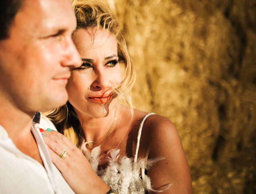 Foto di coppia a Pienza