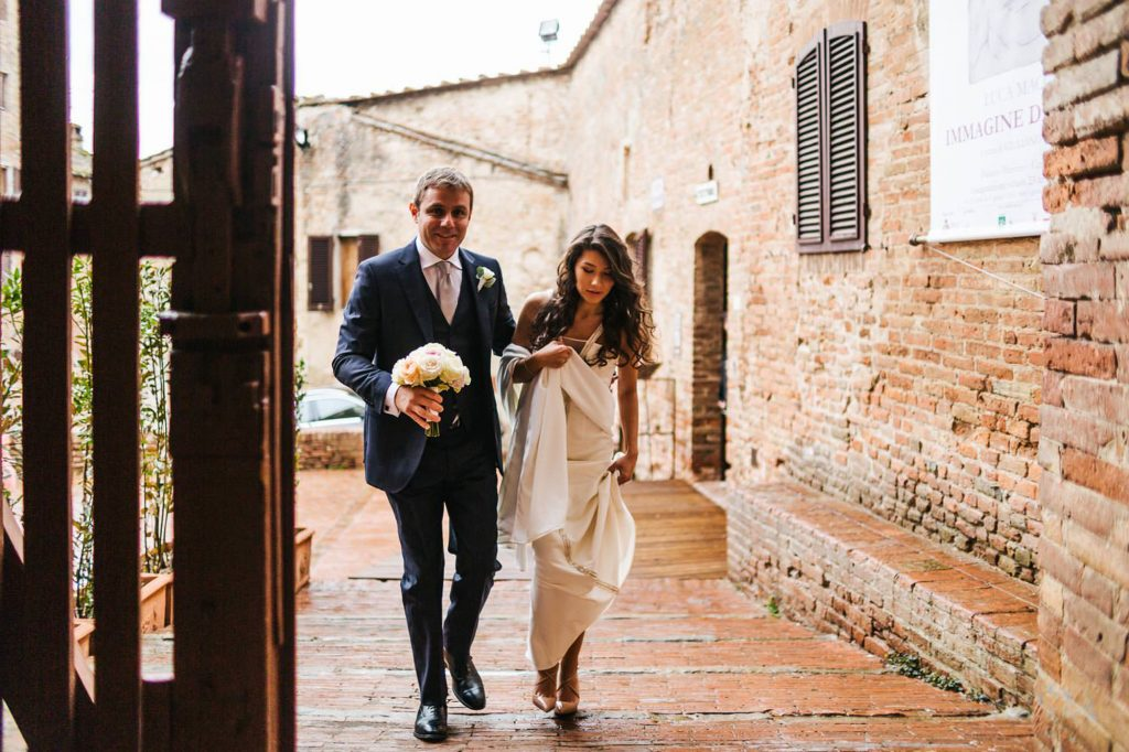 Wedding Photographer In Certaldo Tuscany