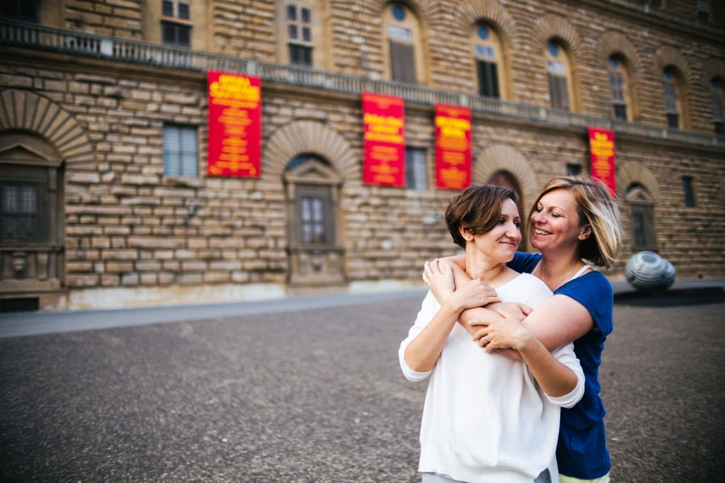 Same Sex Engagement in Florence And LGBT Photo Session