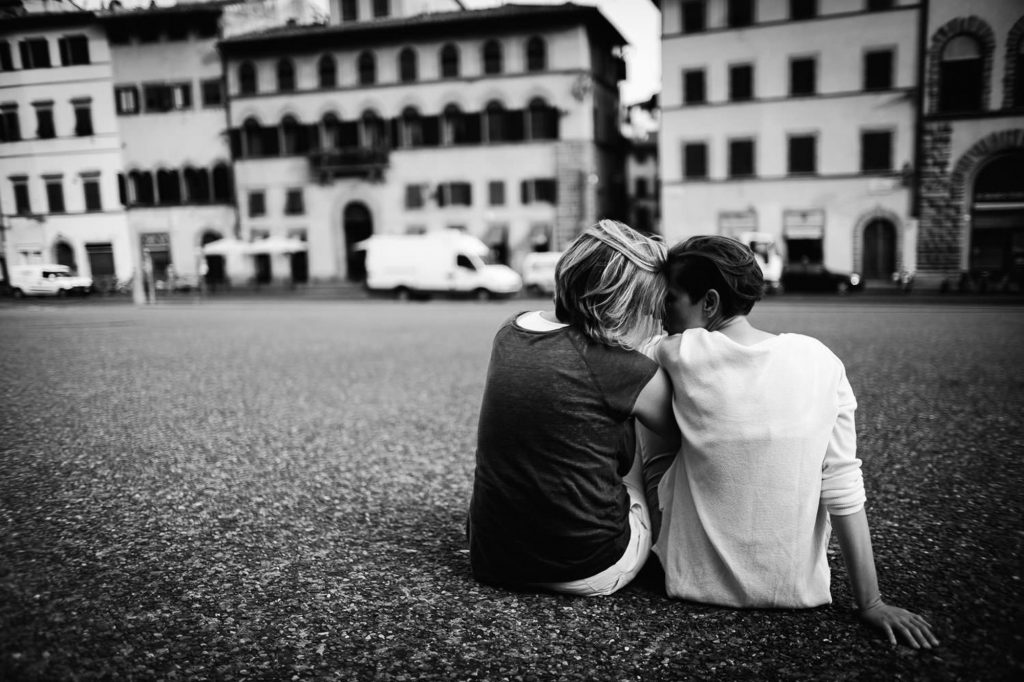 fsame sex engagement in florence