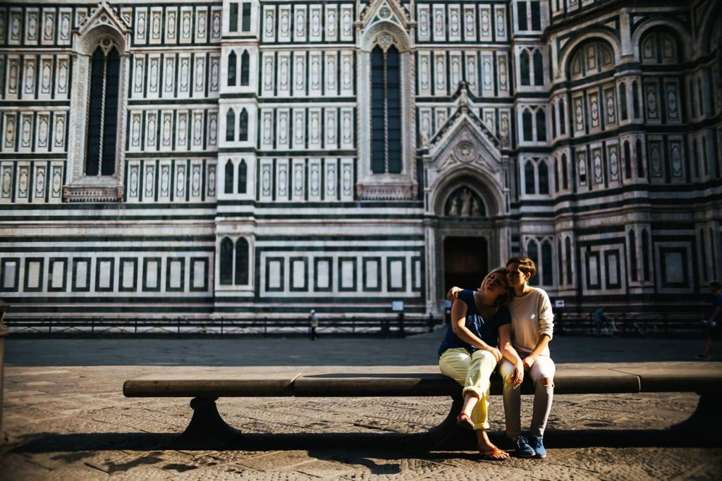 same sex engagement in florence