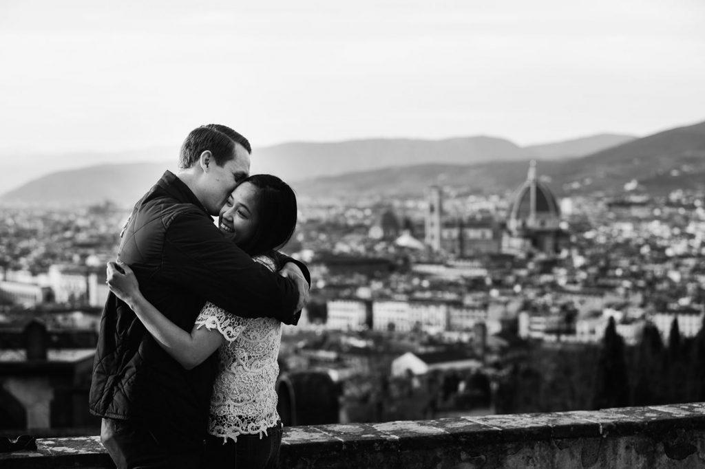 Proposta di matrimonio firenze