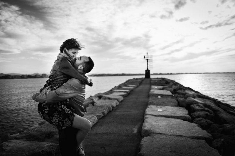 servizio fotografico pre matrimoniale in spiaggia