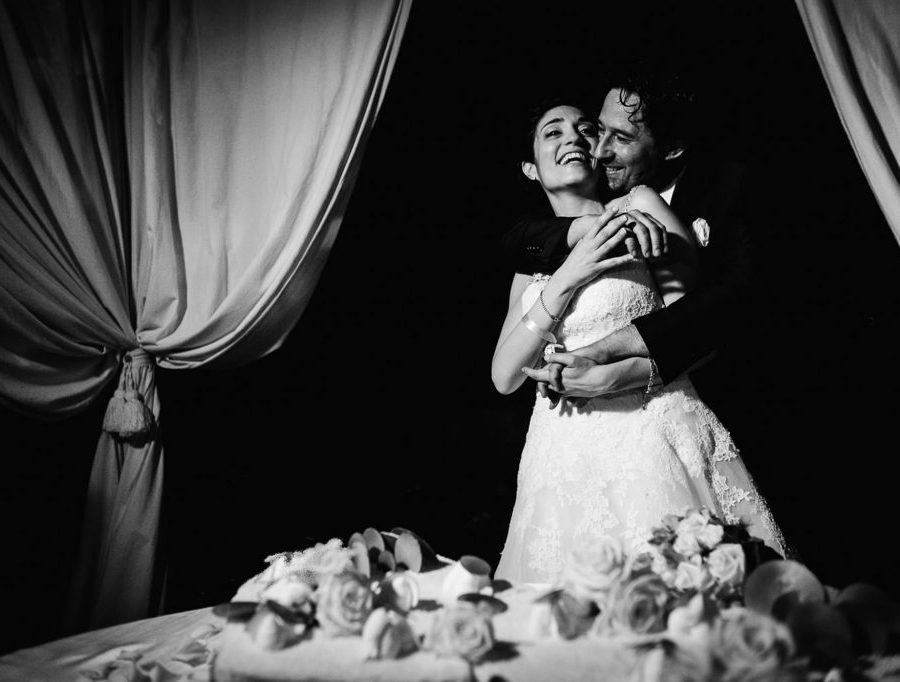 Matrimonio all'aperto in Toscana