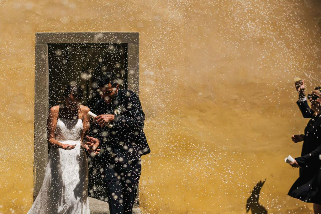 Outdoor wedding Photography near Arezzo in Tuscany