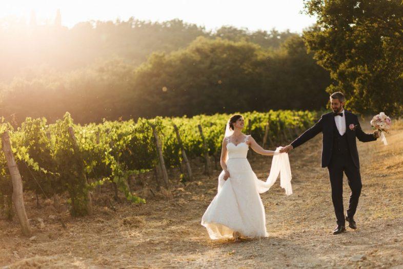 Matrimonio in Toscana al Castello di Spaltenna