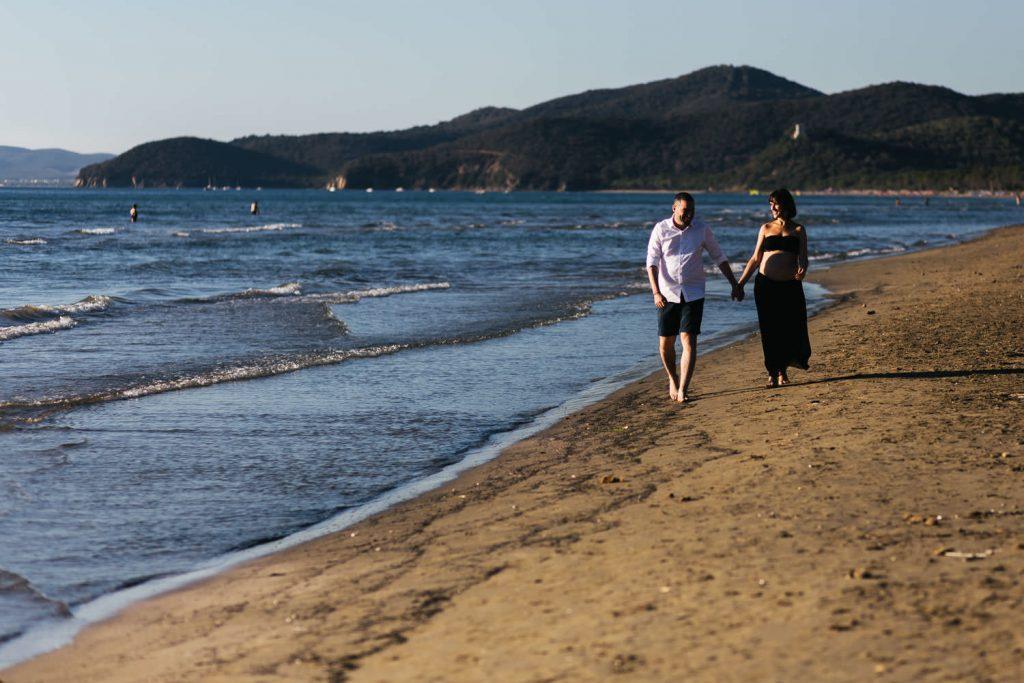 Foto di gravidanza in spiaggia-1