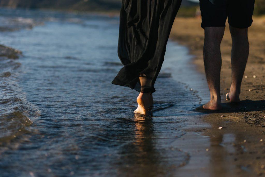 Foto di gravidanza in spiaggia-11