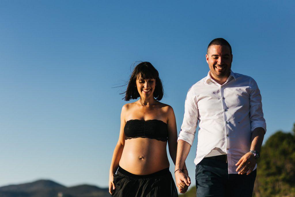 Foto di gravidanza in spiaggia-12