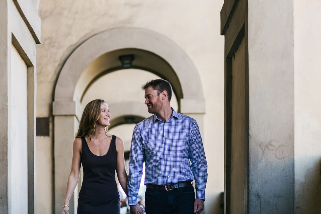 Couple Portrait Photography in Florence: Anniversary photos