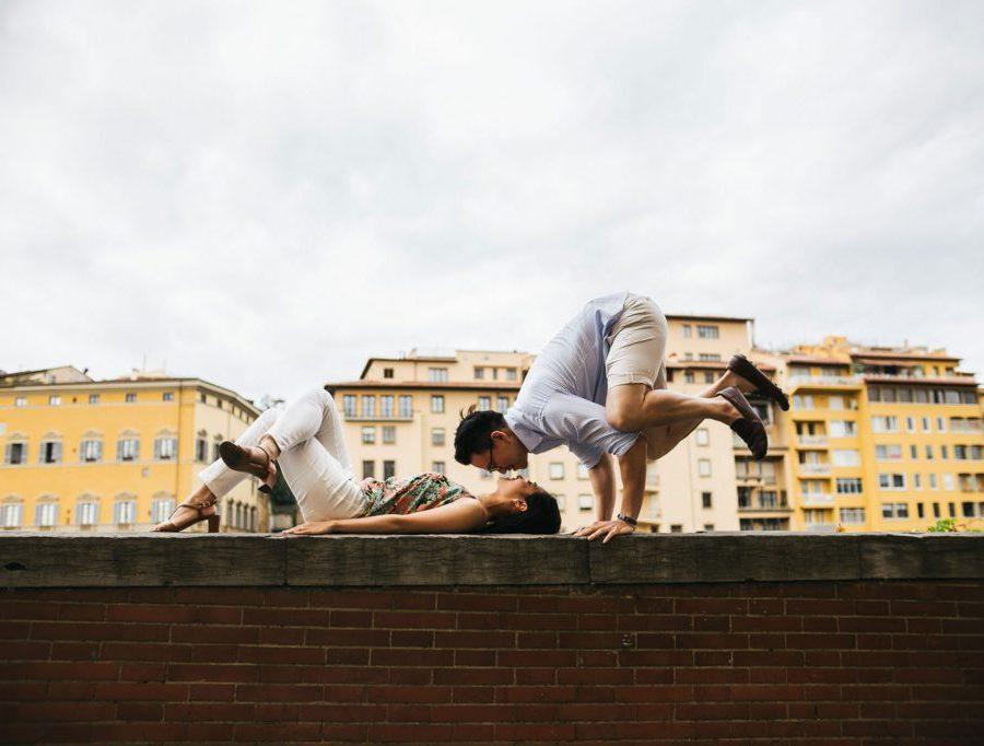 Foto di coppia in Toscana