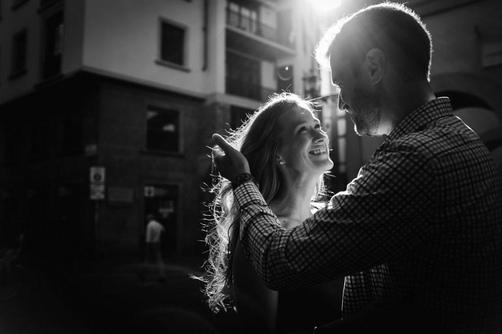 Servizio fotografico di coppia a Firenze
