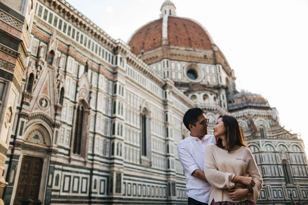 Chinese portrait photography in Florence