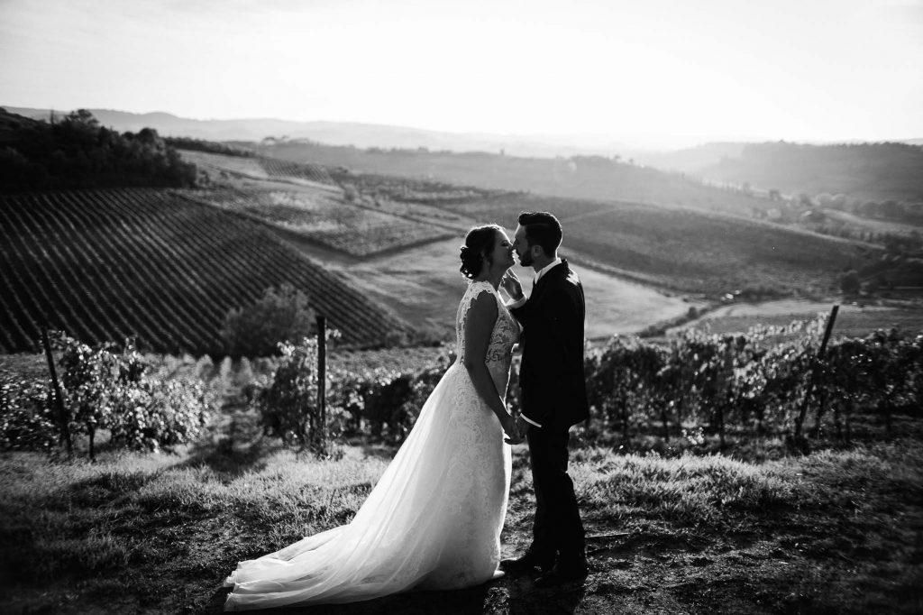 Fotografo di matimonio in Toscana
