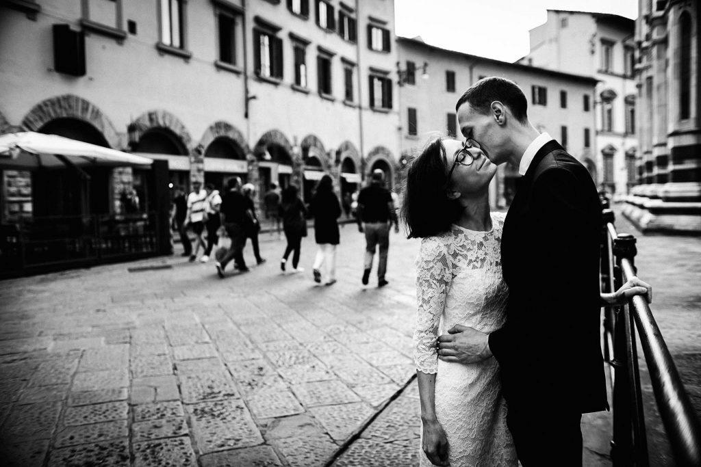 Servizio fotografico di coppia dopo il matrimonio a Firenze101
