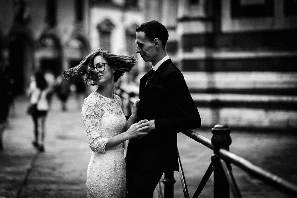 Servizio fotografico di coppia dopo il matrimonio a Firenze102
