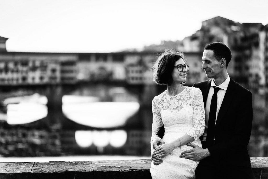 Servizio fotografico di coppia dopo il matrimonio a Firenze60