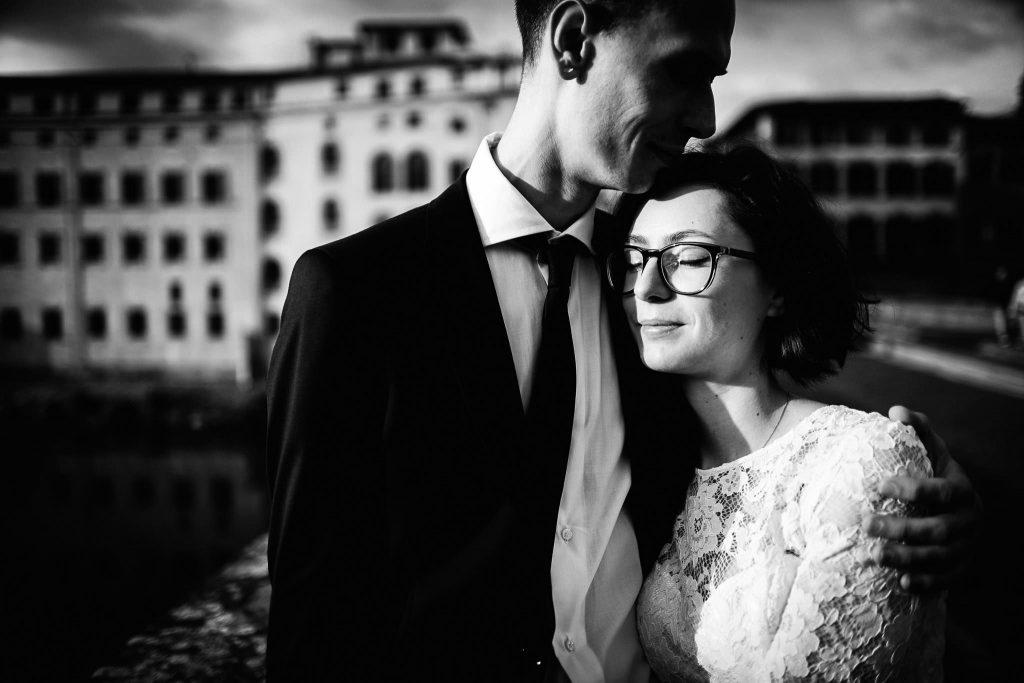 Servizio fotografico di coppia dopo il matrimonio a Firenze61
