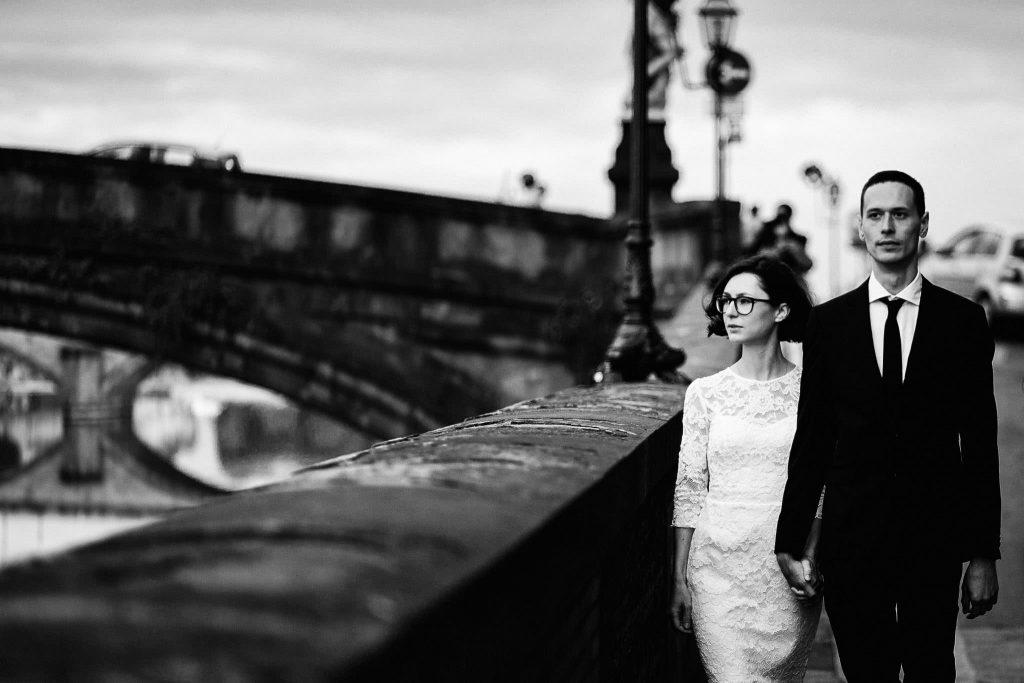 Servizio fotografico di coppia dopo il matrimonio a Firenze63