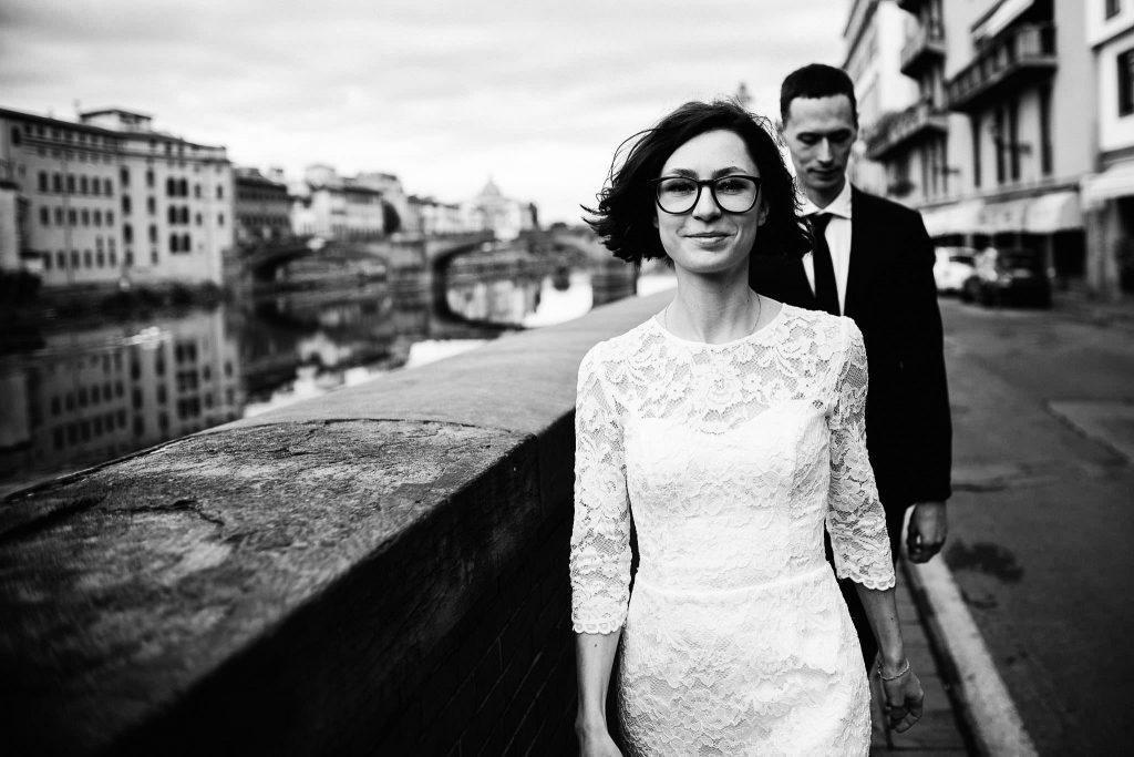 Servizio fotografico di coppia dopo il matrimonio a Firenze68