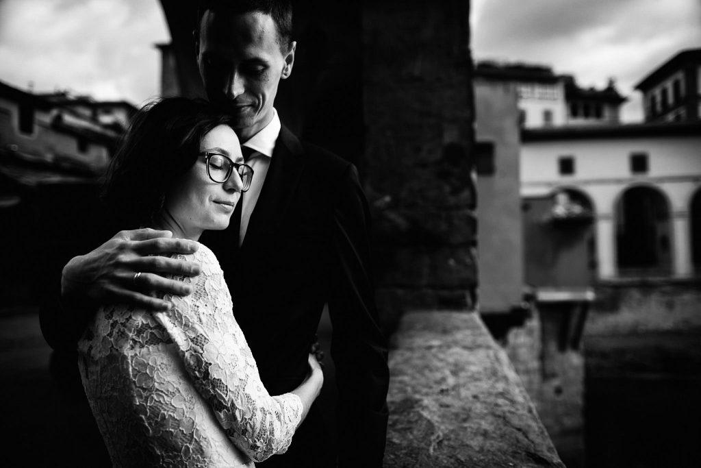 Servizio fotografico di coppia dopo il matrimonio a Firenze70