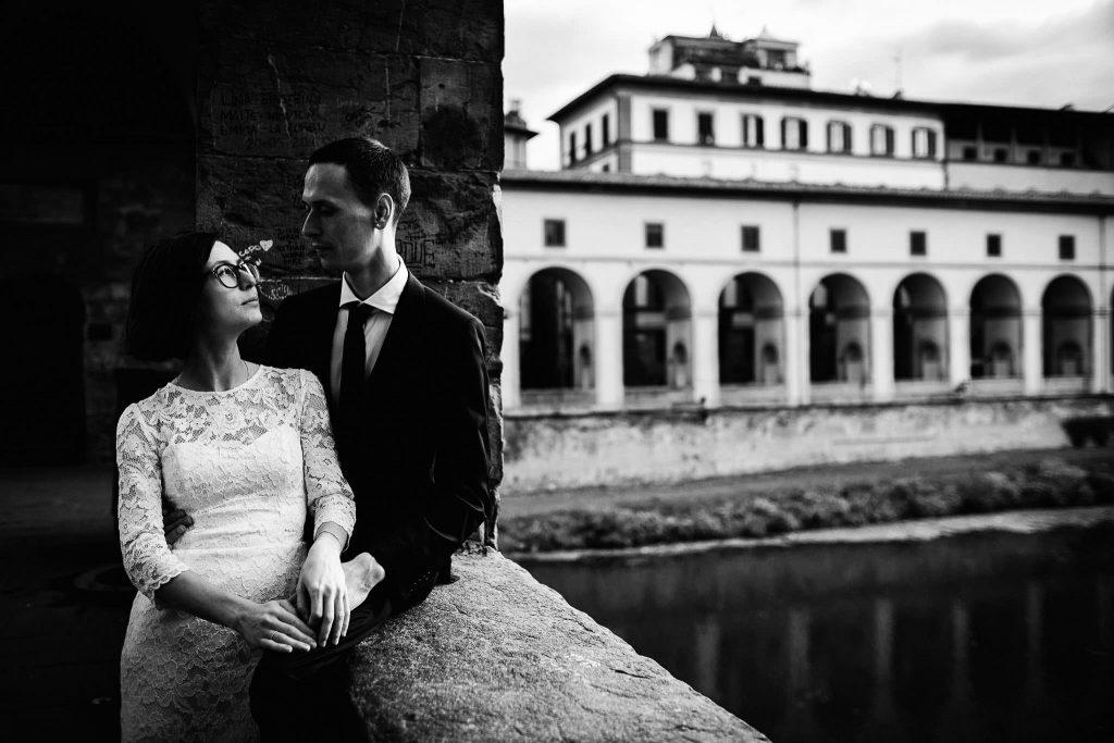Servizio fotografico di coppia dopo il matrimonio a Firenze71