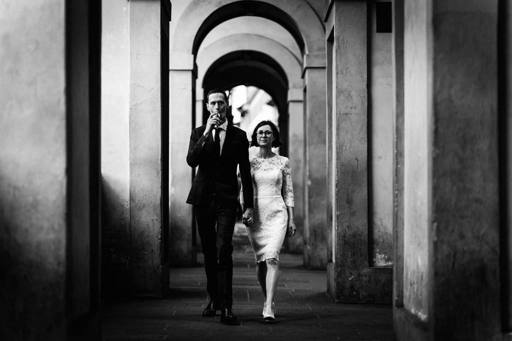 Servizio fotografico di coppia dopo il matrimonio a Firenze76