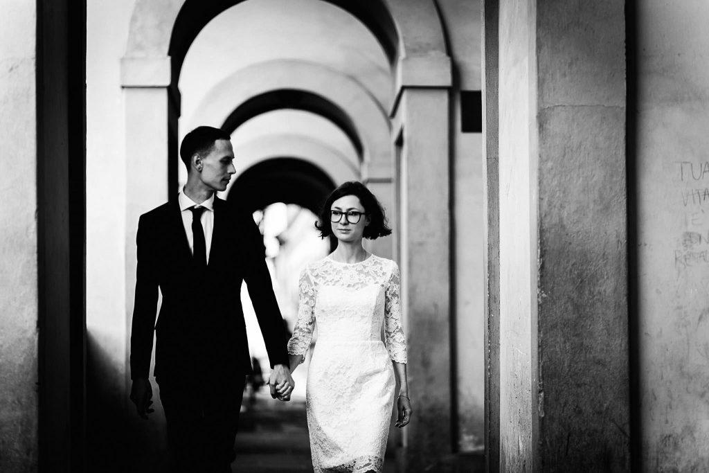 Servizio fotografico di coppia dopo il matrimonio a Firenze77