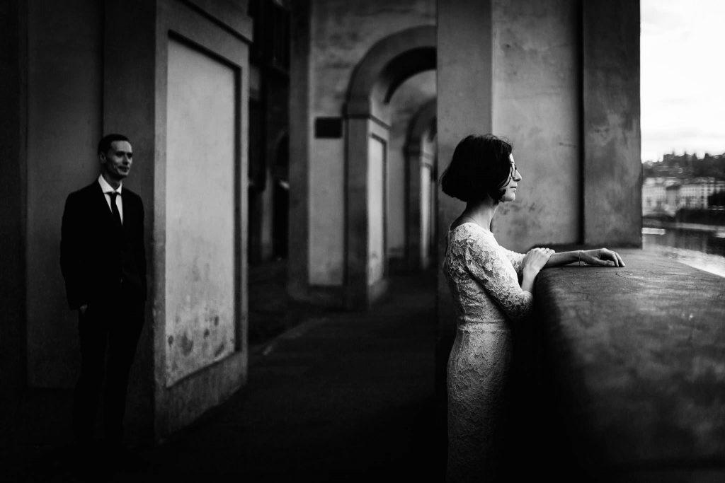 Servizio fotografico di coppia dopo il matrimonio a Firenze80