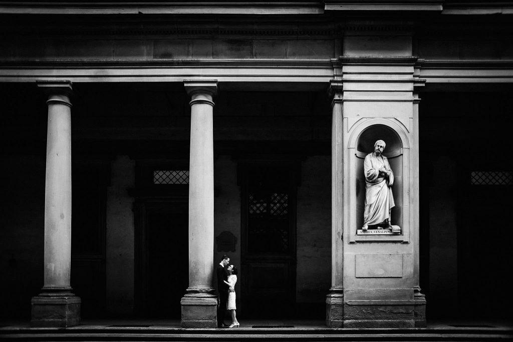 Servizio fotografico di coppia dopo il matrimonio a Firenze88
