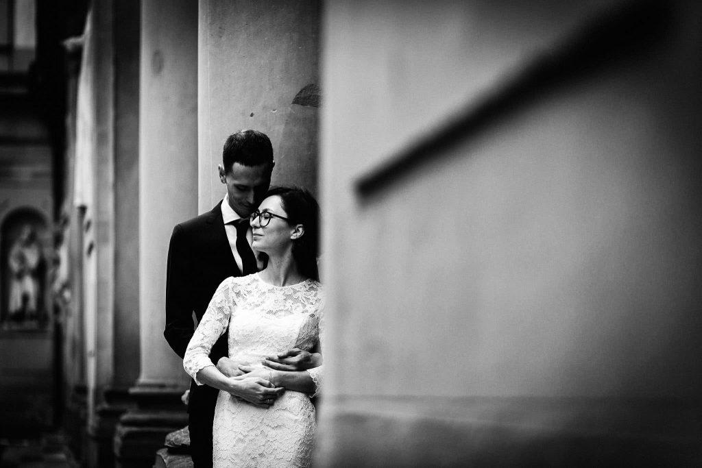 Servizio fotografico di coppia dopo il matrimonio a Firenze89
