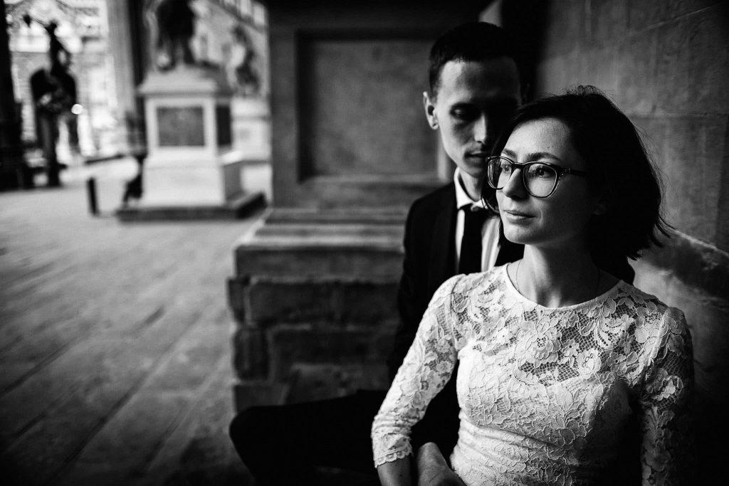 Servizio fotografico di coppia dopo il matrimonio a Firenze92
