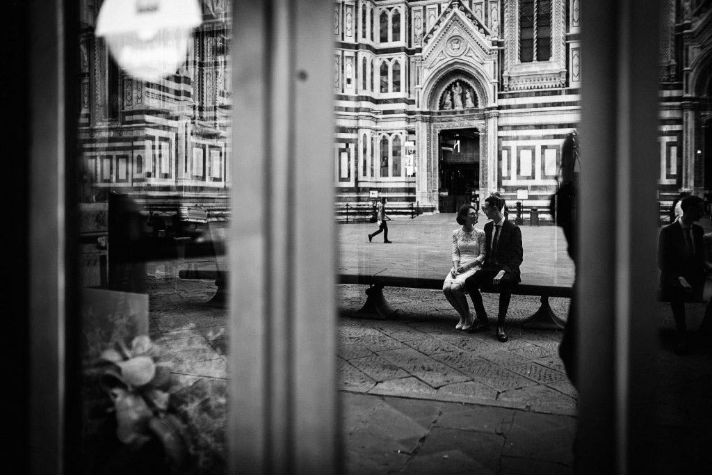 Servizio fotografico di coppia dopo il matrimonio a Firenze97