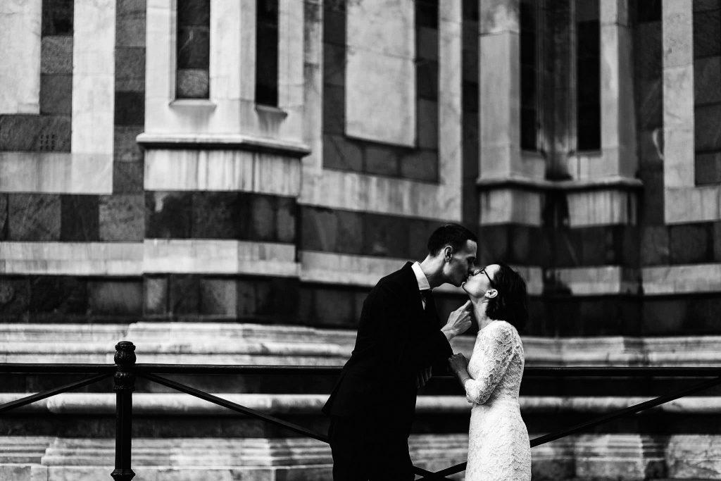 Servizio fotografico di coppia dopo il matrimonio a Firenze99
