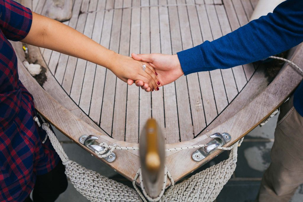 Engagement photography cinque terre