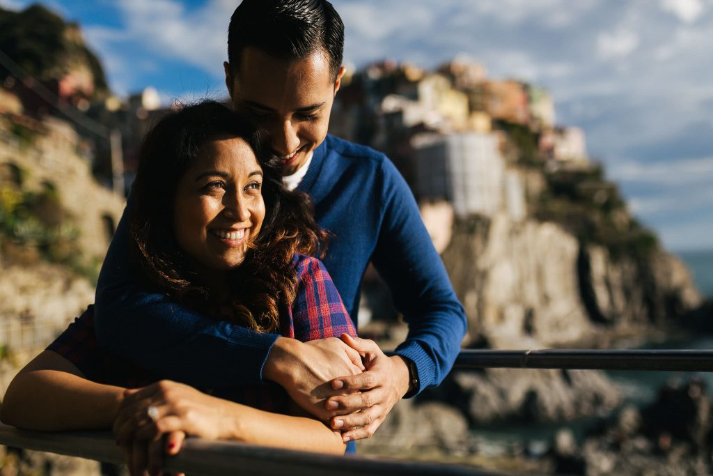 Engagement photography session in Cinque terre