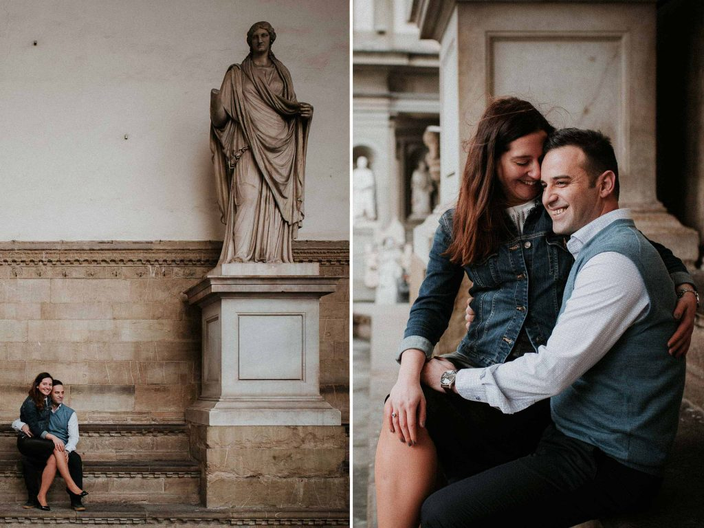 Engagement photography session in Florence 10-12