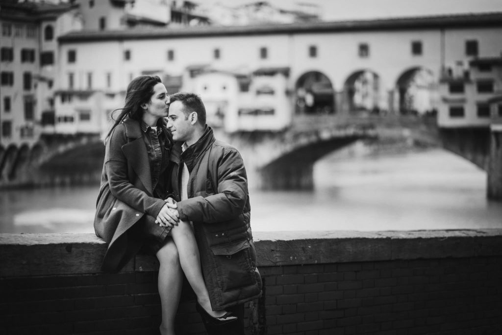 Engagement photography session in Florence
