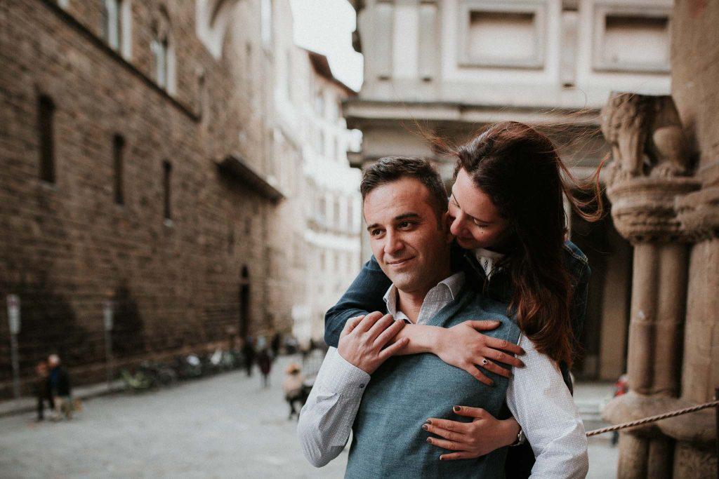 Servizio fotografico di fidanzamento a Firenze-16