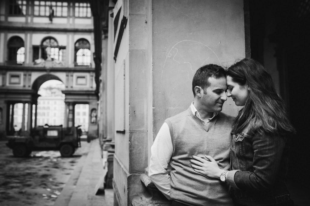 Servizio fotografico di fidanzamento a Firenze-19