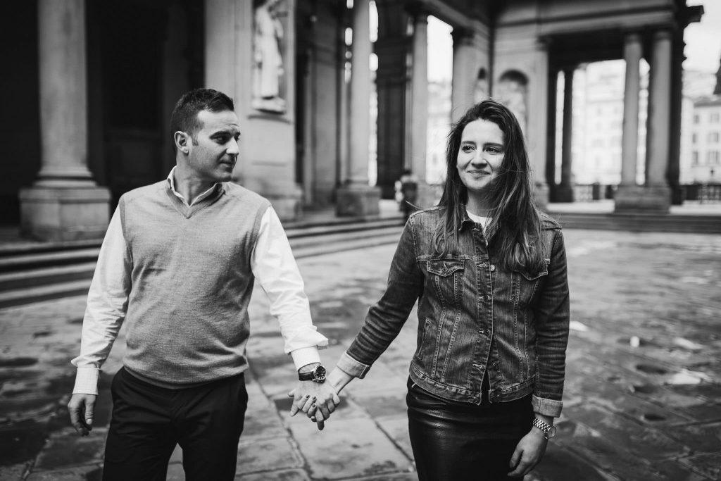 Servizio fotografico di fidanzamento a Firenze-22