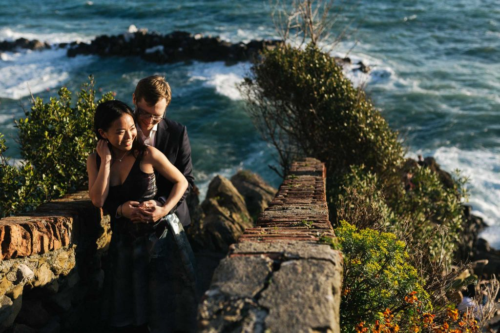 Cinque Terre engagement photographer
