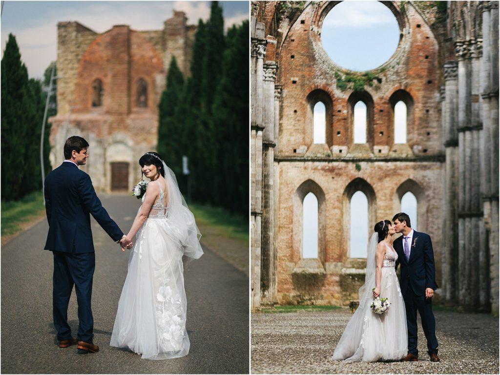 Fotografie di matrimonio all'Abbazia di San Galgano 108