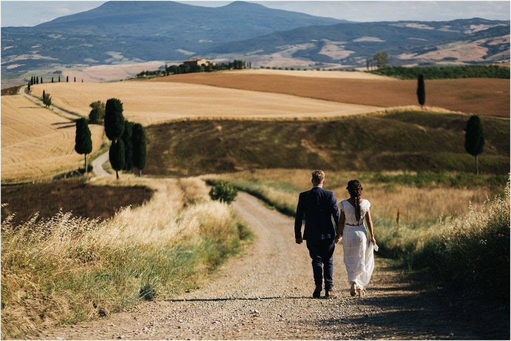 Wedding photographer in Monticchiello, Val d'Orcia 118