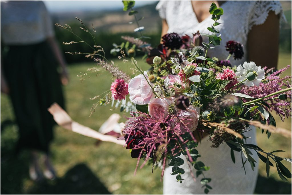 Wedding Photographer Val d'Orcia: Vintage style wedding