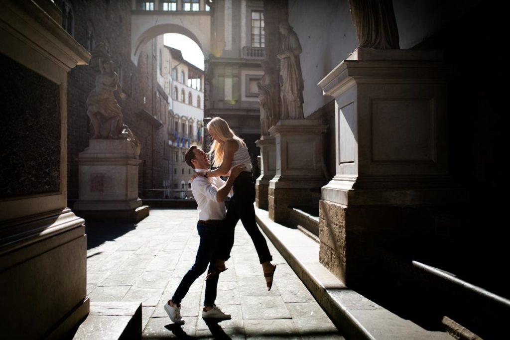 Fotografie di coppia a Firenze